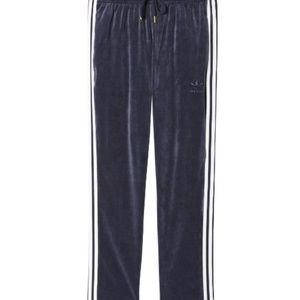 Originals VELOUR Men's Sweat Pants Blue/White